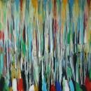 Óleo sobre lienzo <br>100 x 100 cm<br>2015