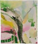 Tinta-carbón-acuarela 15 x 13,5 cm 2011