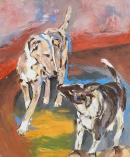 Óleo sobre lienzo 1974