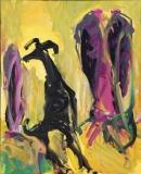 Óleo sobre lienzo 100 x 80 cm 2003