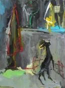 Óleo sobre lienzo 88 x 60 cm 2003