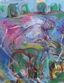 Óleo sobre lienzo  116 x 90 cm  2003
