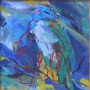 Óleo sobre lienzo  61 x 58 cm  2003