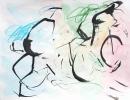 Tinta-carbón-acuarela 32 x 24 cm