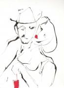 Óleo-tinta 34,5 x 24,5 cm 2003