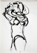 Tinta-acuarela 31 x 21 cm 2003