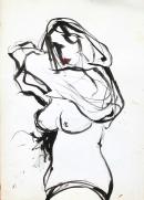 Tinta-acuarela 46 x 32,5 cm 2003