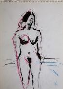 Tinta-carbón 30 x 21 cm 2003