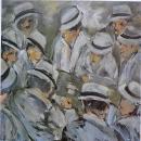 Óleo sobre lienzo 122 x 122 cm1987