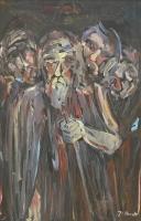 Óleo sobre lienzo 122 x 60 cm 1980