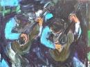 Óleo sobre lienzo 81 x 100 cm  1980