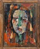 Óleo sobre tabla 108 x 86 cm 1987