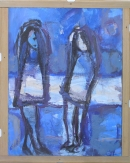 Óleo sobre tabla 120 x 100 cm 1985