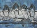 Óleo sobre tabla 89 x 116 cm 1985