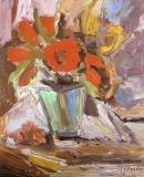 Oil on canvas 50 x 42 cm 1991