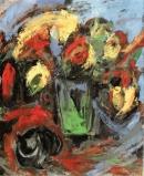 Óleo sobre lienzo 50 x 46 cm 1991