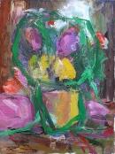 Oil on canvas 55 x 40 cm 1998