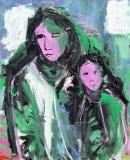 Óleo sobre lienzo 100 x 81 cm 2004