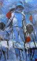 Oil on canvas 146 x 89 cm 1997