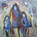 Óleo sobre lienzo 152 x 152 cm 1998