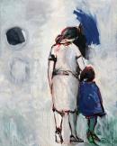 Óleo sobre lienzo 162 x 130 cm 1997