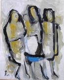 Óleo sobre lienzo 162 x 130 cm 2003
