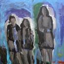 Oil on canvas 175 x 175 cm 1999