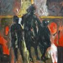 Óleo sobre lienzo 190 x 190 cm 1998