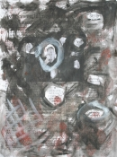 Óleo-papel  123 x 92 cm 1979-1999