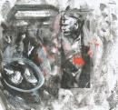 Óleo-papel 85 x 92 cm 1979-1999
