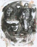 Óleo-papel  91 x 71 cm 1979-1999