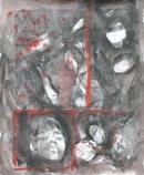 Óleo-papel  92 x 75 cm 1979-1999