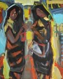 Óleo sobre lienzo  100 x 81 cm 2002