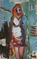 Óleo sobre lienzo  100 x 87 cm 2002