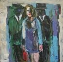 Óleo sobre lienzo  122 x 122 cm 2002
