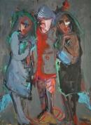 Óleo sobre lienzo  122 x 89 cm 2002