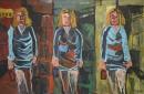 Óleo sobre lienzo  130 x 195 cm 2000
