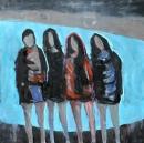 Óleo sobre lienzo  175 x 175 cm 1998