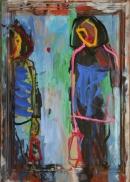 Óleo sobre tabla 110 x 80 cm 2002