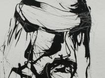 Tinte-kohle 24 x 18 cm 2005-2006